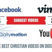 Sugiere videos cristianos de Facebook, Vimeo, DailyM...